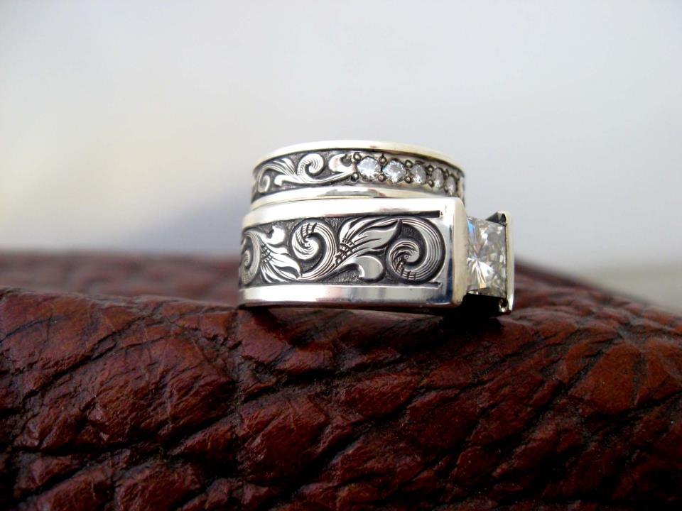 western wedding rings - Western Wedding Rings
