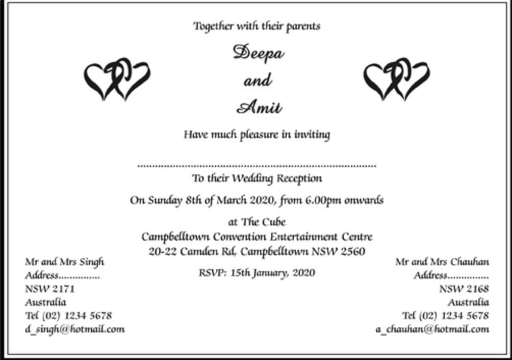 Wedding Invitation Ideas India