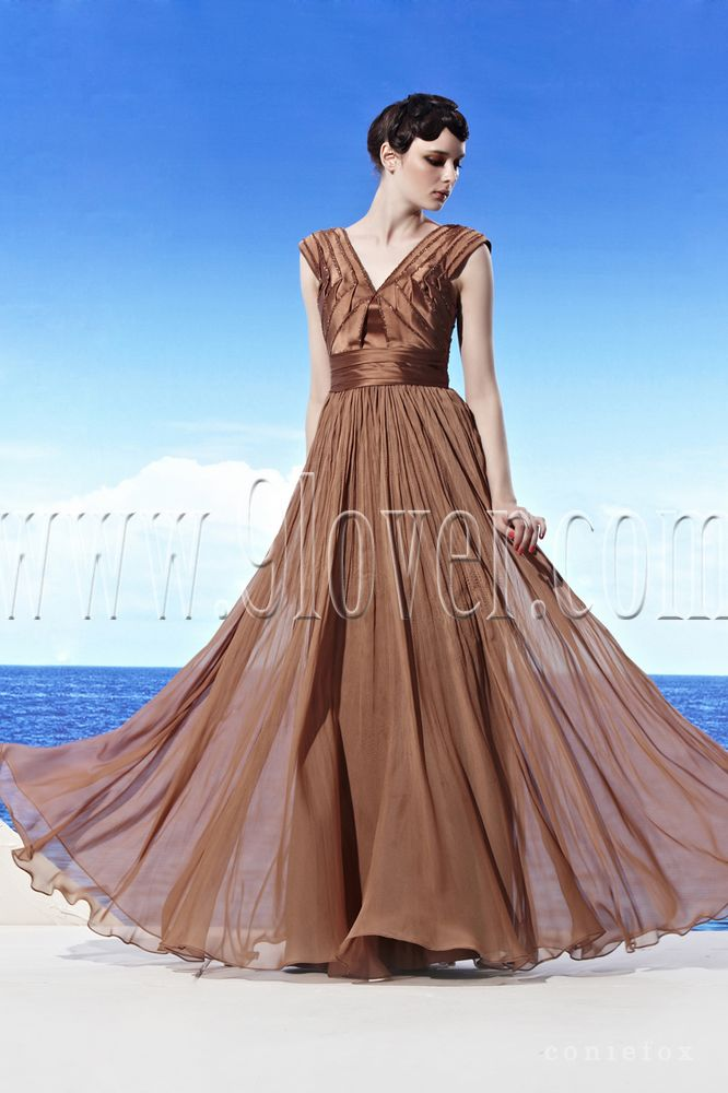 Fantastisch Brown Wedding Dress Fotos - Brautkleider Ideen ...