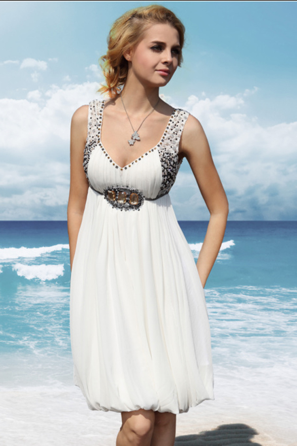 Island Wedding Dress