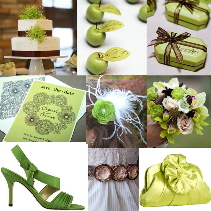 Lime Green And Brown Wedding Colors Green And Brown Bathroom Color