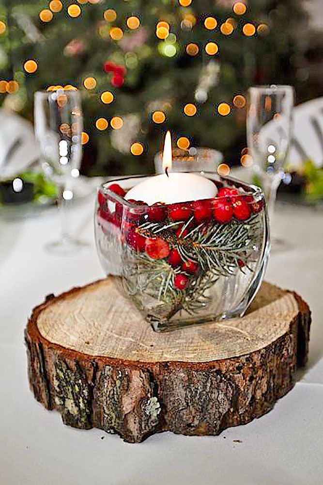 Amazing Of Christmas Themed Wedding Centerpieces 1000 Ideas About