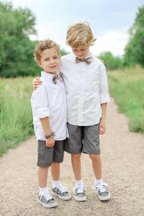 Boys Beach Wedding Attire | Wedding Tips and Inspiration