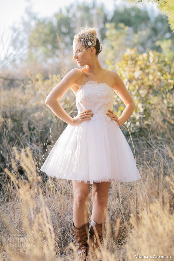 Awesome Western Wedding Dresses Short Contemporary - Styles & Ideas ...
