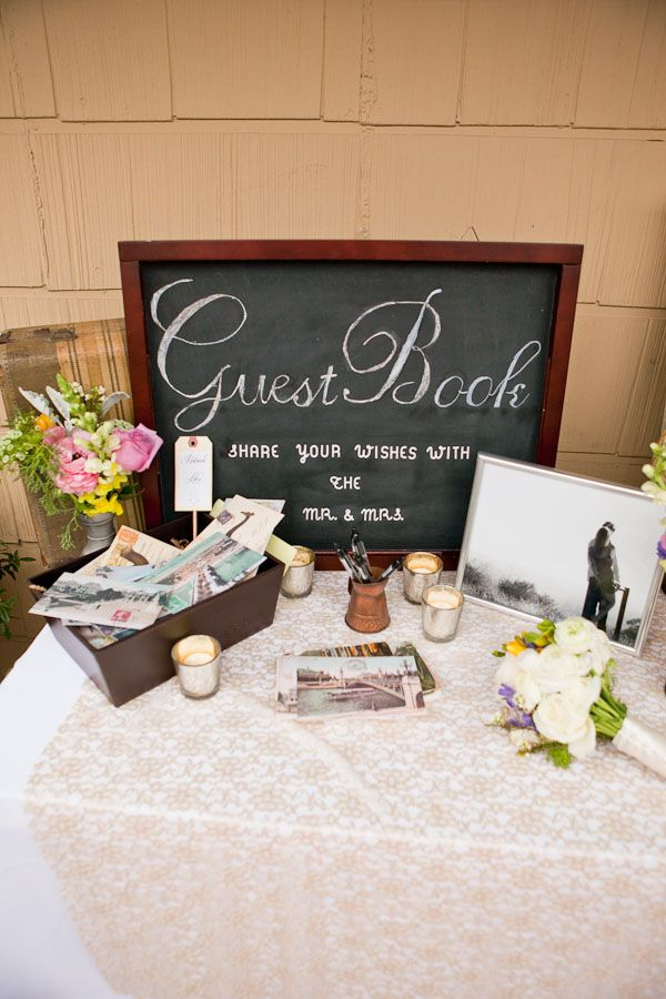 Wedding Guest Table Ideas 15 Trending Book Signin