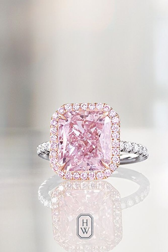 Pink wedding rings best 25 pink diamond engagement ring ideas on emasscraft org square junglespirit Choice Image