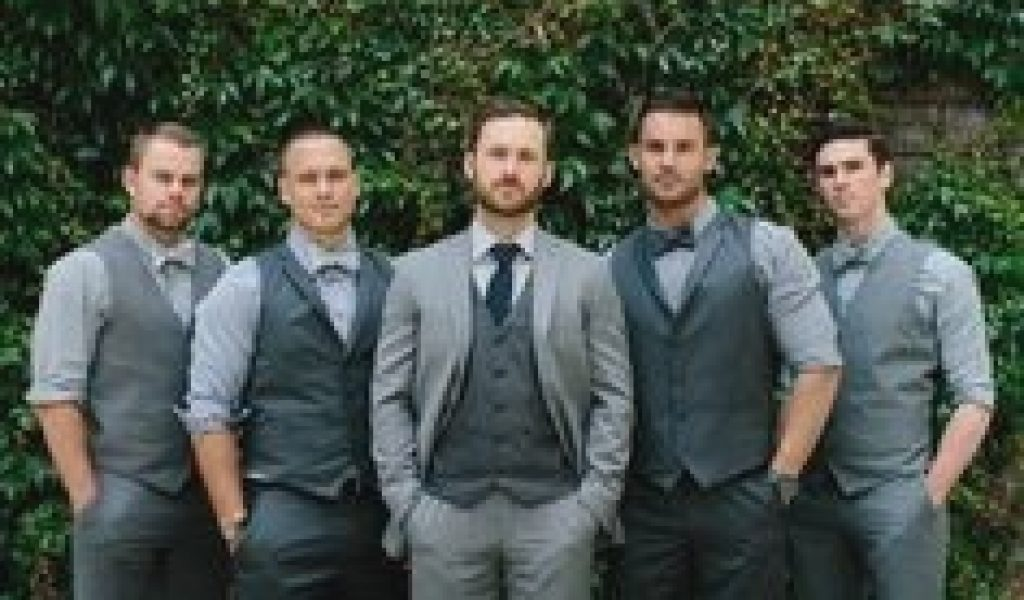Rustic Mens Wedding Attire