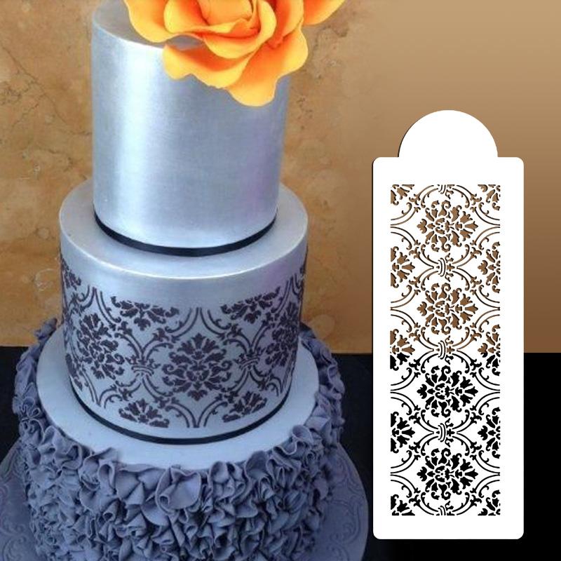 Wedding Cake Stencil,plastic Cookie Cake Stencil Fondant Cake Tool