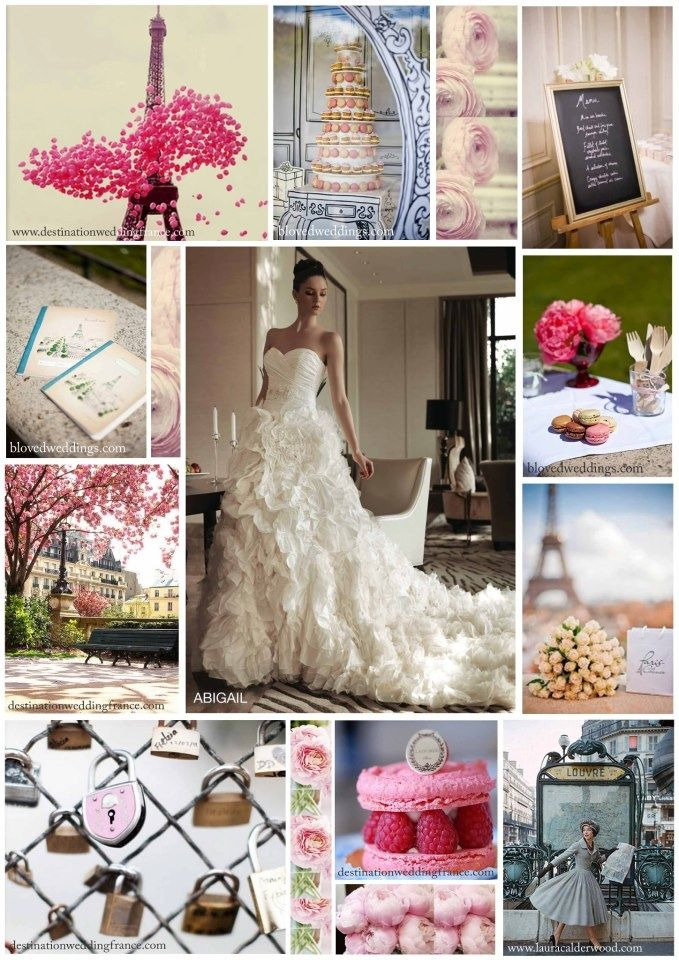 Beautiful Paris Themed Wedding Ideas Images Styles Ideas 2018