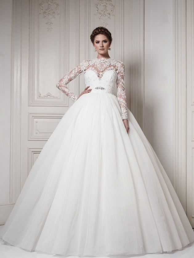 a1be3e8c82c 30 Gorgeous Lace Sleeve Wedding Dresses Wedding Gowns With Sleeves ...