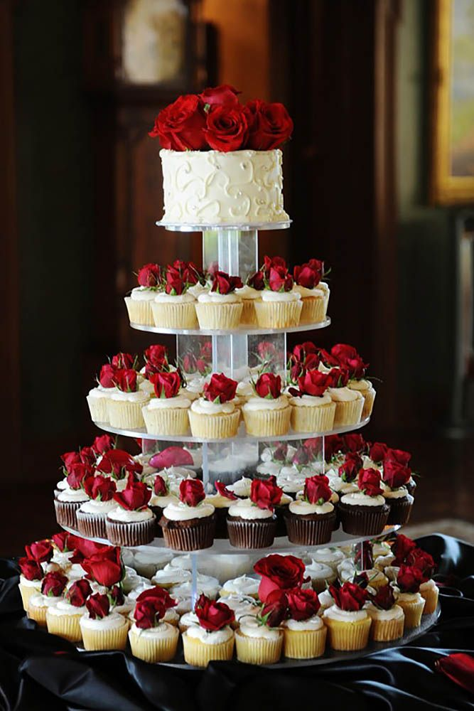 Wedding Cup Cake Designs