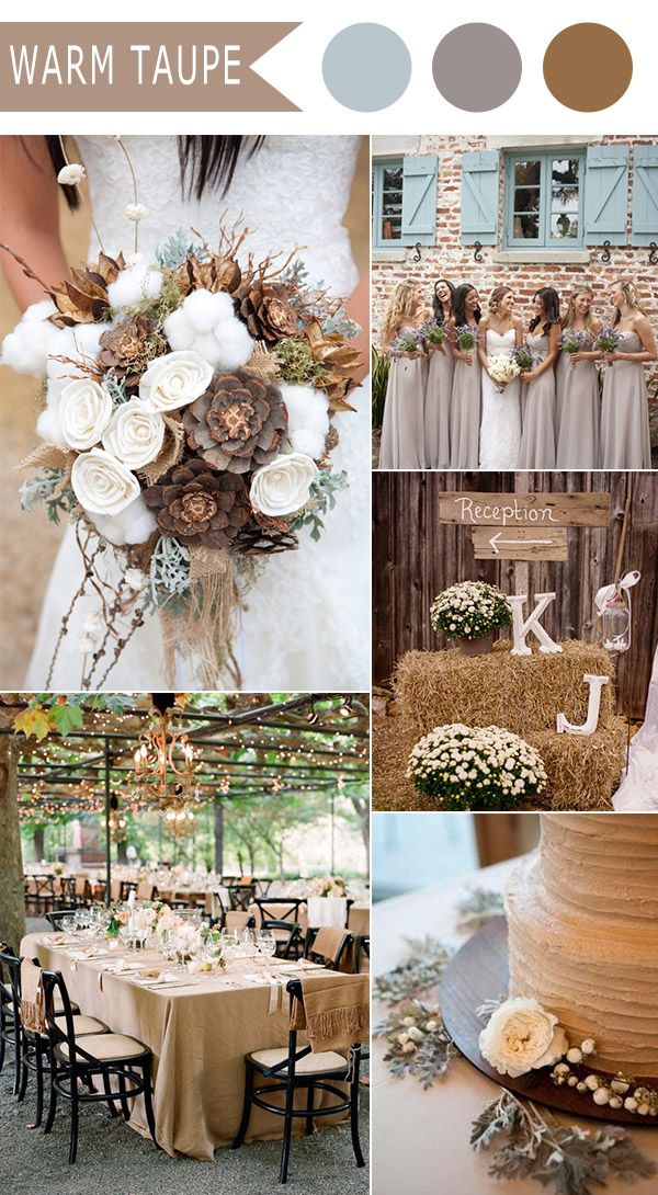 Best Fall Wedding Colors 2018 – Fashion dresses
