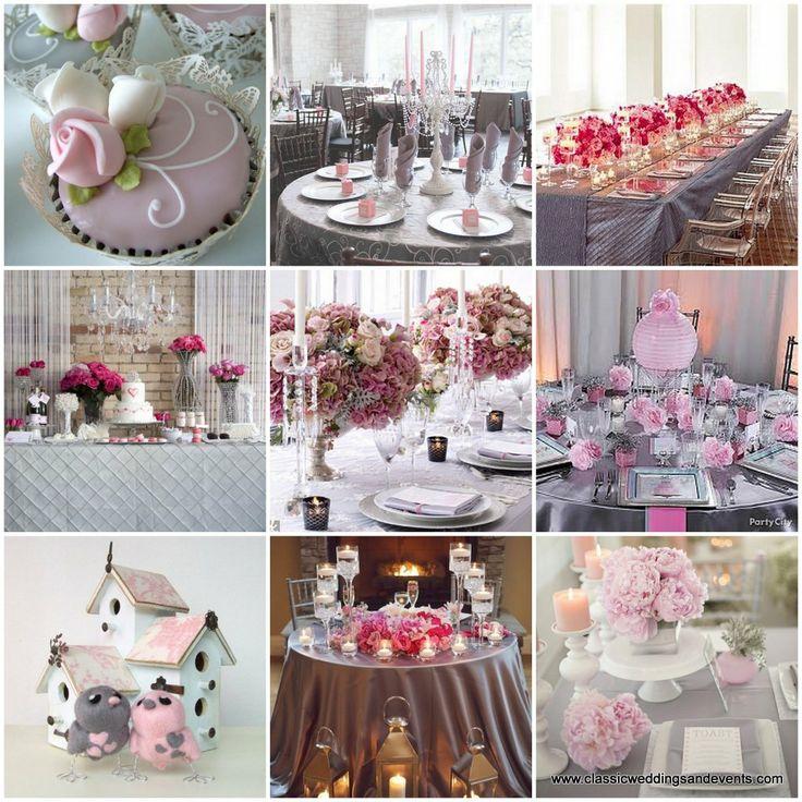 Gray wedding decoration ideas 90 best peach and grey wedding ideas images on emasscraft org junglespirit Images