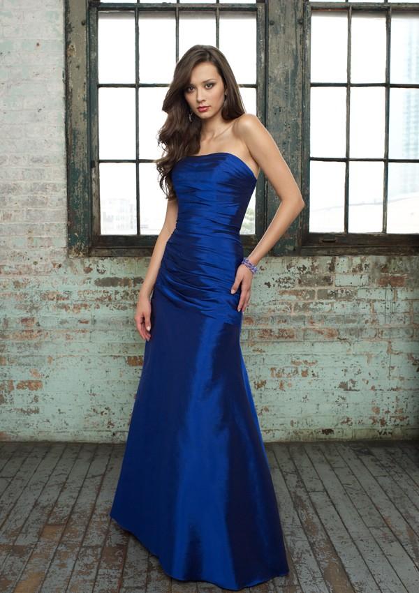 Electric Blue Wedding Dress