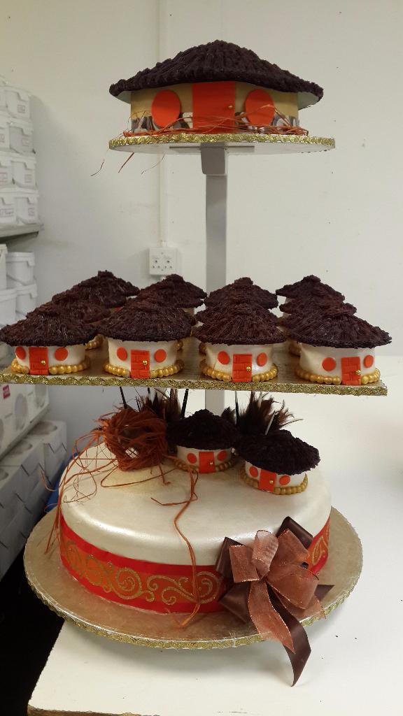 African Wedding Cakes