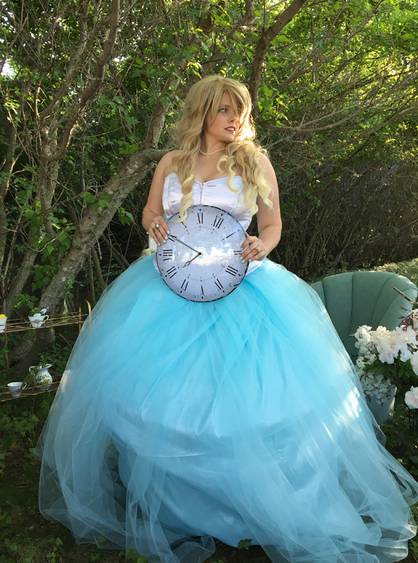 alice in wonderland wedding dress in wedding dress 1257