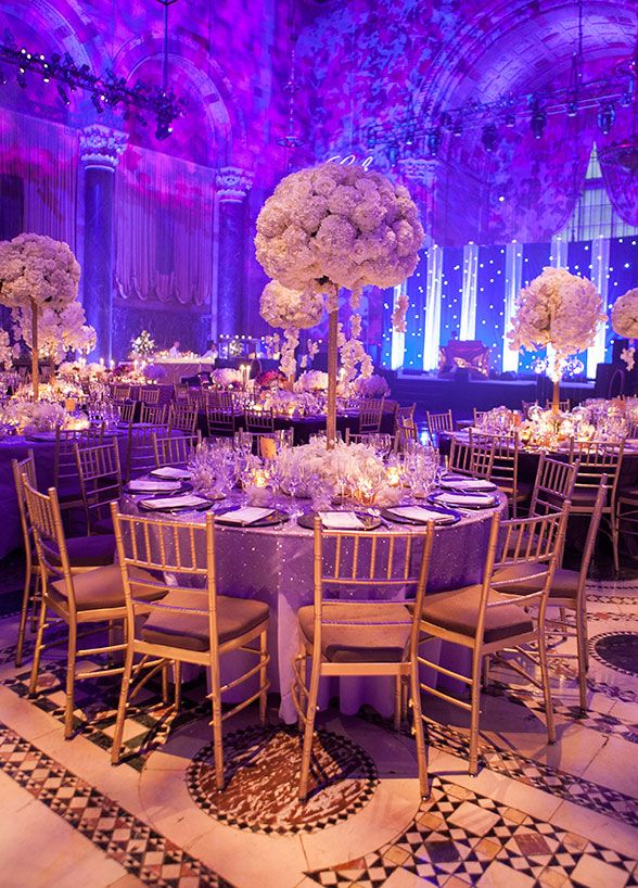 purple wedding reception. Black Bedroom Furniture Sets. Home Design Ideas