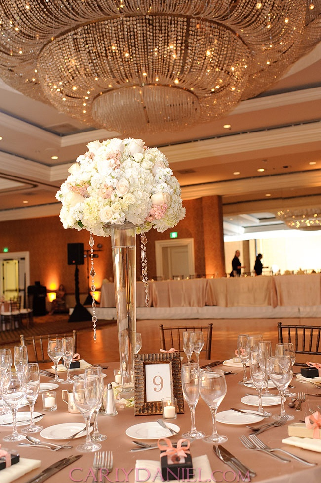 Champagne Wedding Reception Ideas