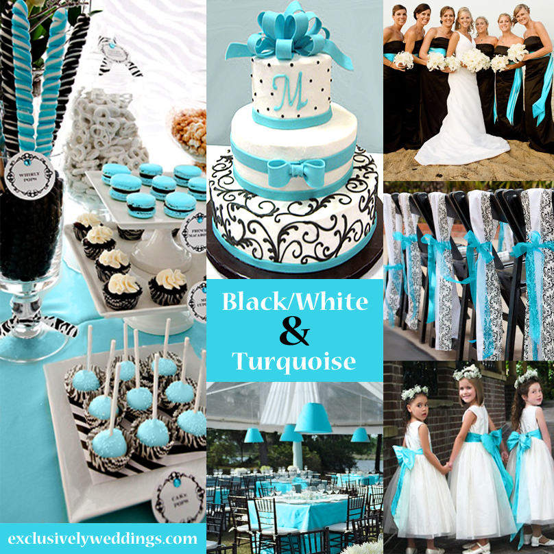 Awesome Black And Turquoise Wedding Decorations 47 For Your Table
