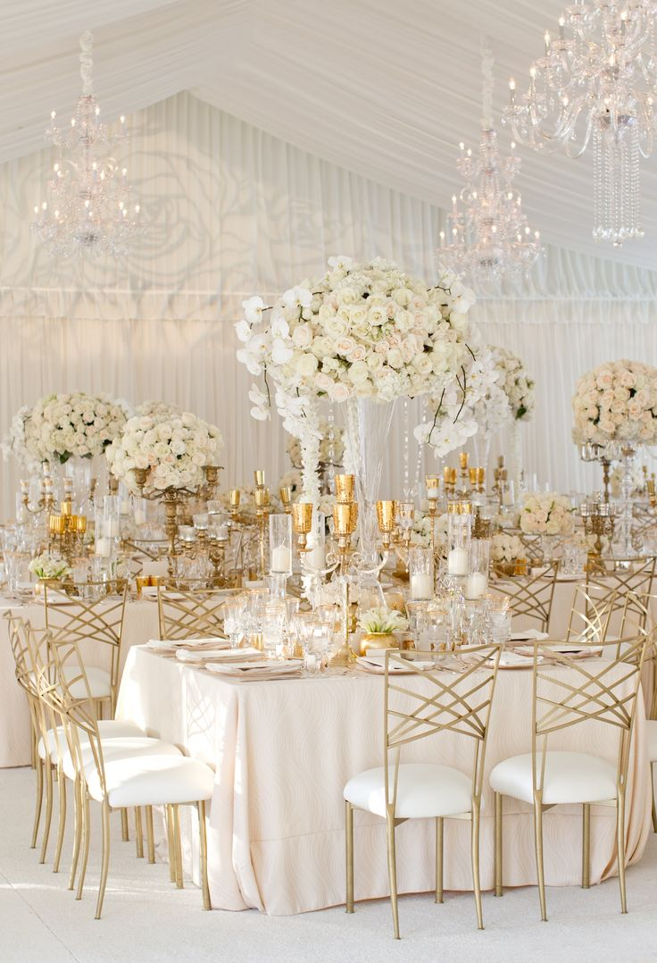 White Gold Wedding Decorations · gold table settings wedding u2013 Loris Decoration & Surprising White And Gold Wedding Table Settings Images - Best Image ...