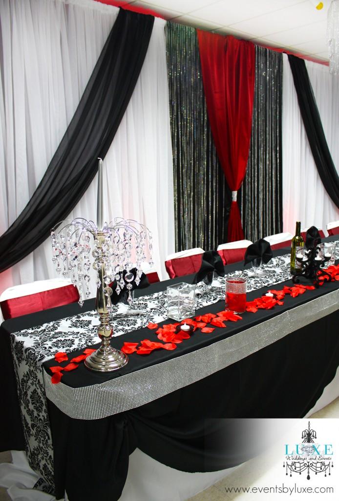 Damask Wedding Decor