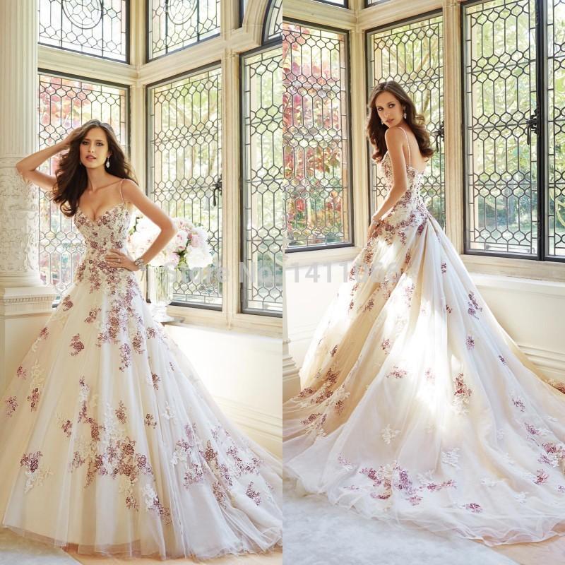 Emejing Unique Colored Wedding Dresses Contemporary - Styles & Ideas ...