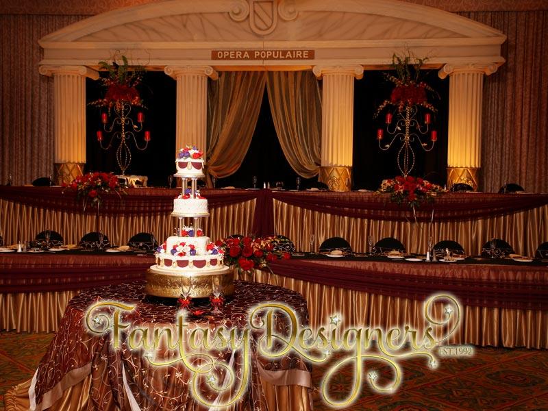 Beautiful Phantom Of The Opera Themed Wedding Gallery Emasscraft
