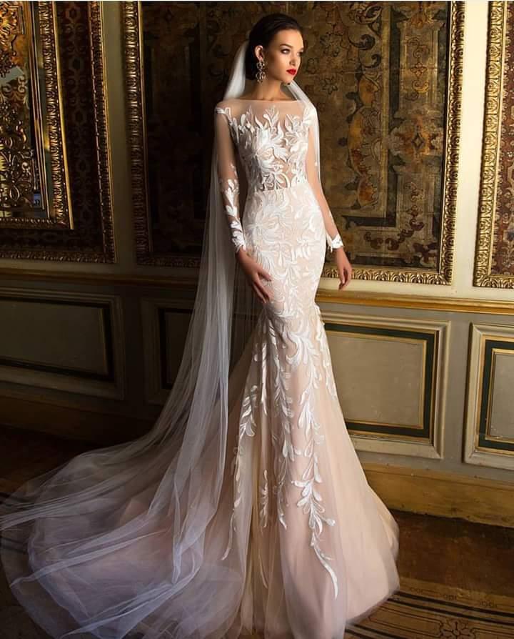 Sequin Wedding Gown