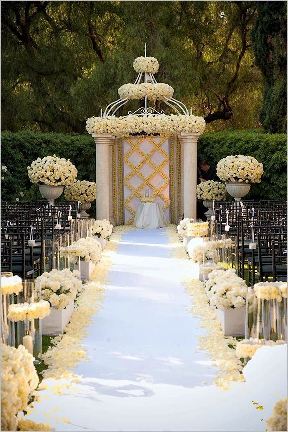 Ideas for wedding ceremony decorations junglespirit Image collections