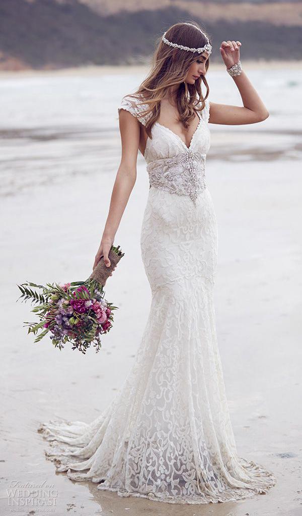 Beach Wedding Dress Pinterest