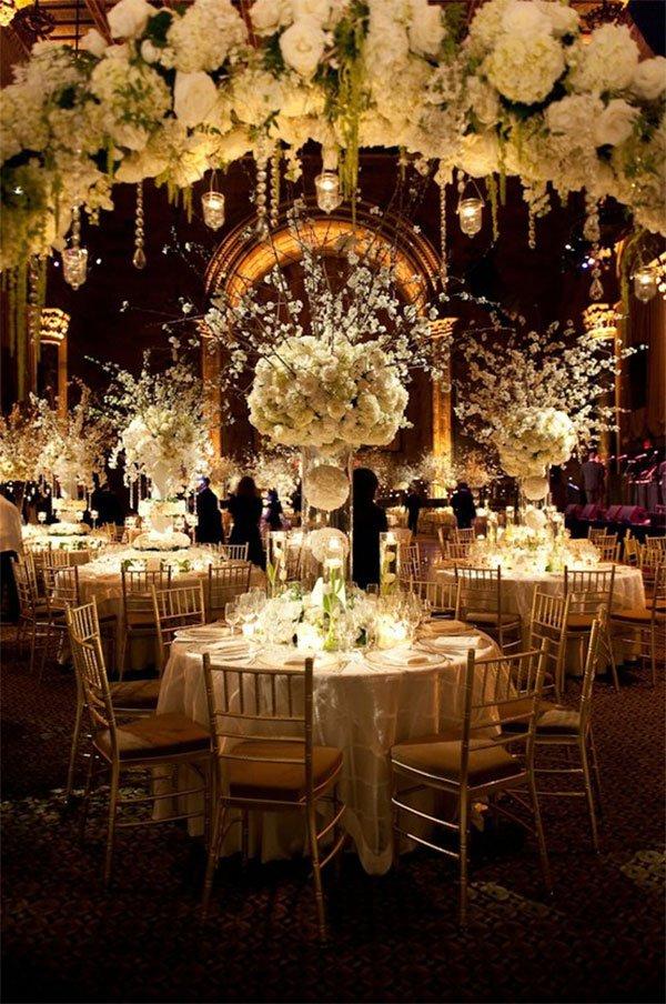 Ballroom Wedding Decorating Ideas Unique