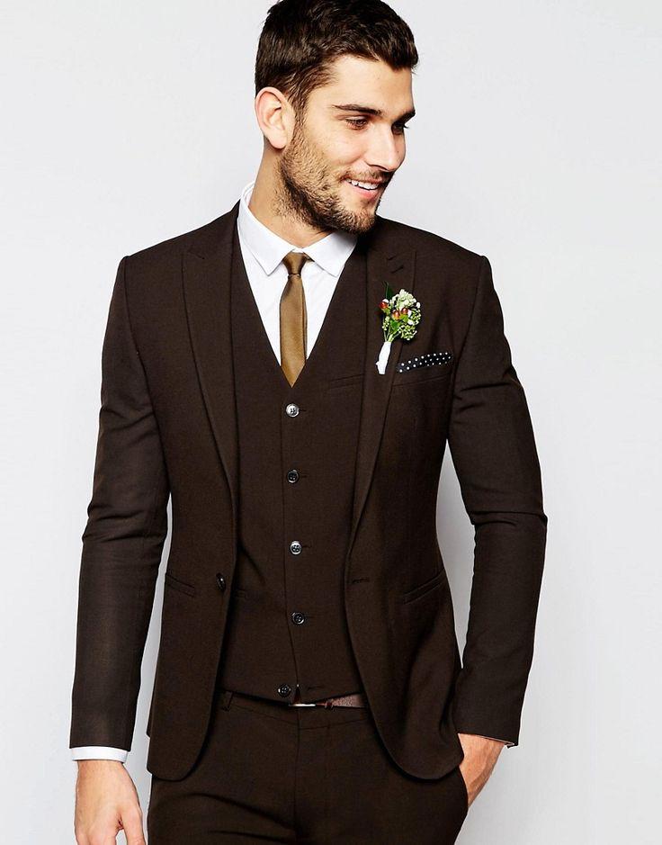 Brown Wedding Suits For Men