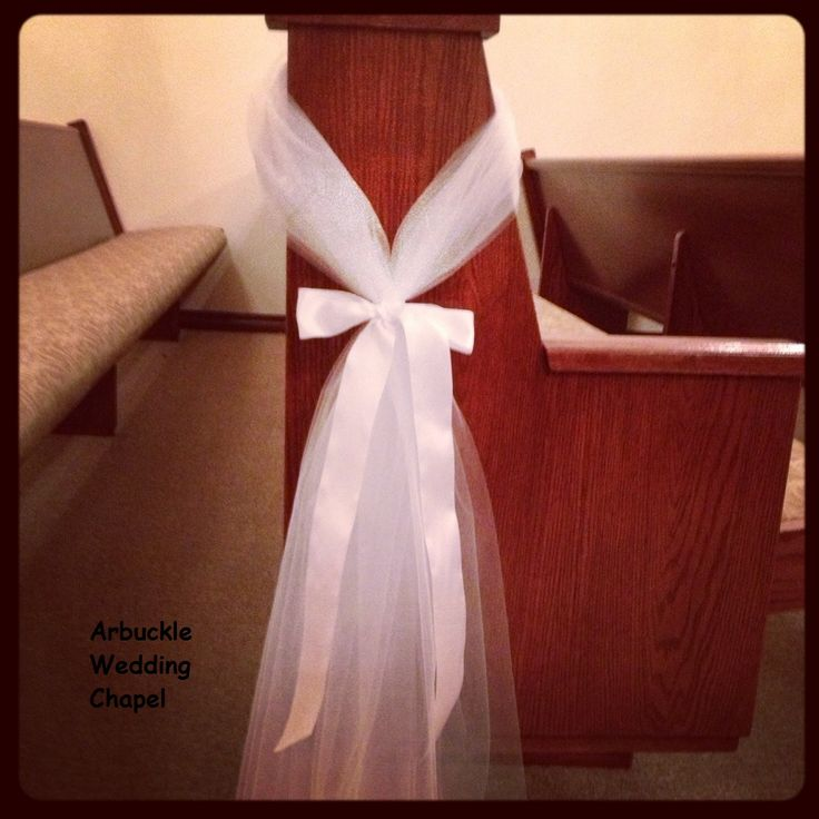 Wedding bows for church decorations best 25 church pew decorations ideas on emasscraft org junglespirit Images
