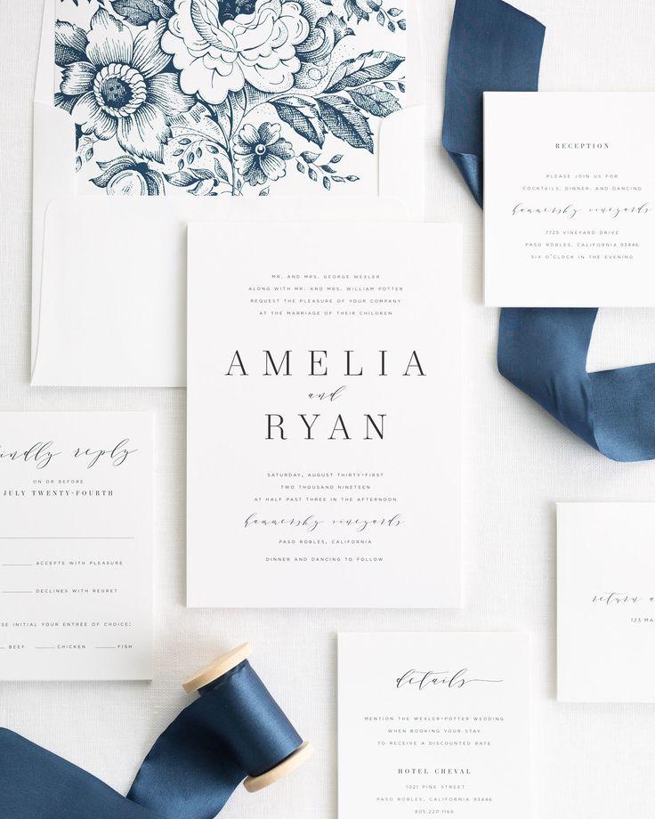 Best 25 Elegant Wedding Invitations Ideas On Emasscraft Org Classy