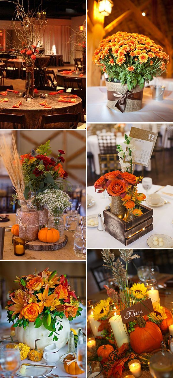 Best 25 Fall Wedding Centerpieces Ideas On Emcraft Org