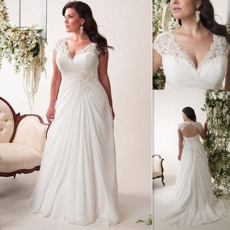 Wedding Dress For Fat Womens