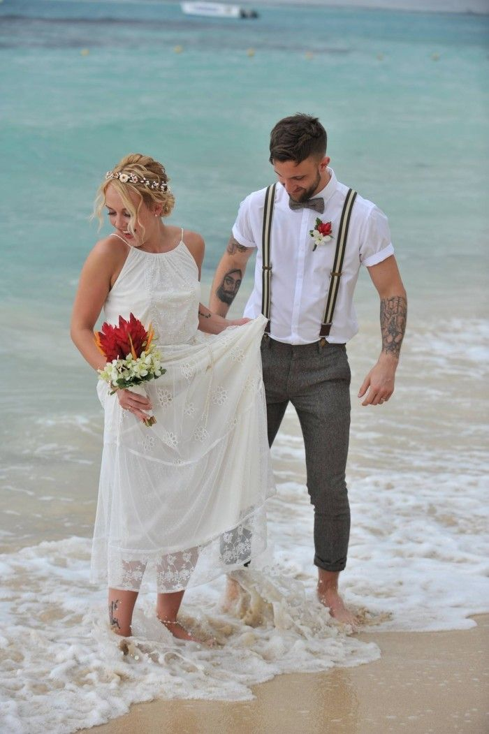Beach Wedding Looks For Men
