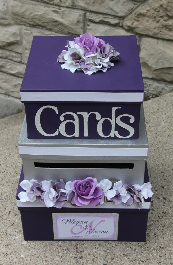 Purple And Silver Wedding Ideas