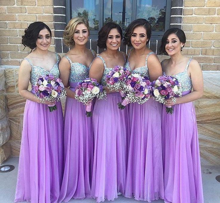 Lavender And Silver Wedding