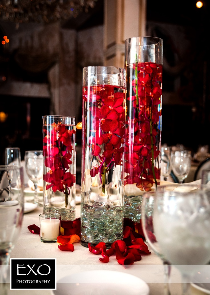 Wedding red centerpieces gallery wedding decoration ideas red wedding centerpieces junglespirit Choice Image