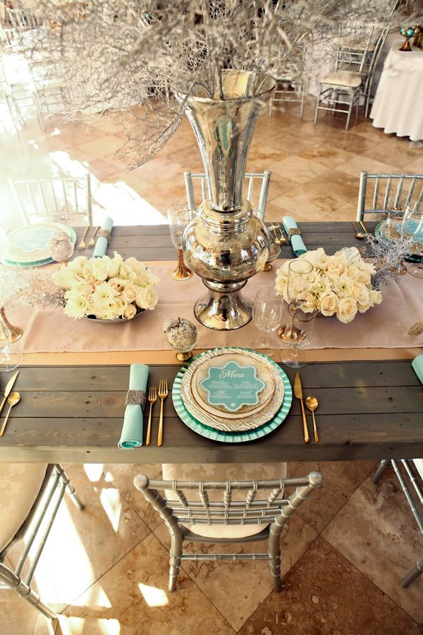 Teal And Gold Wedding Theme Wedding Ideas