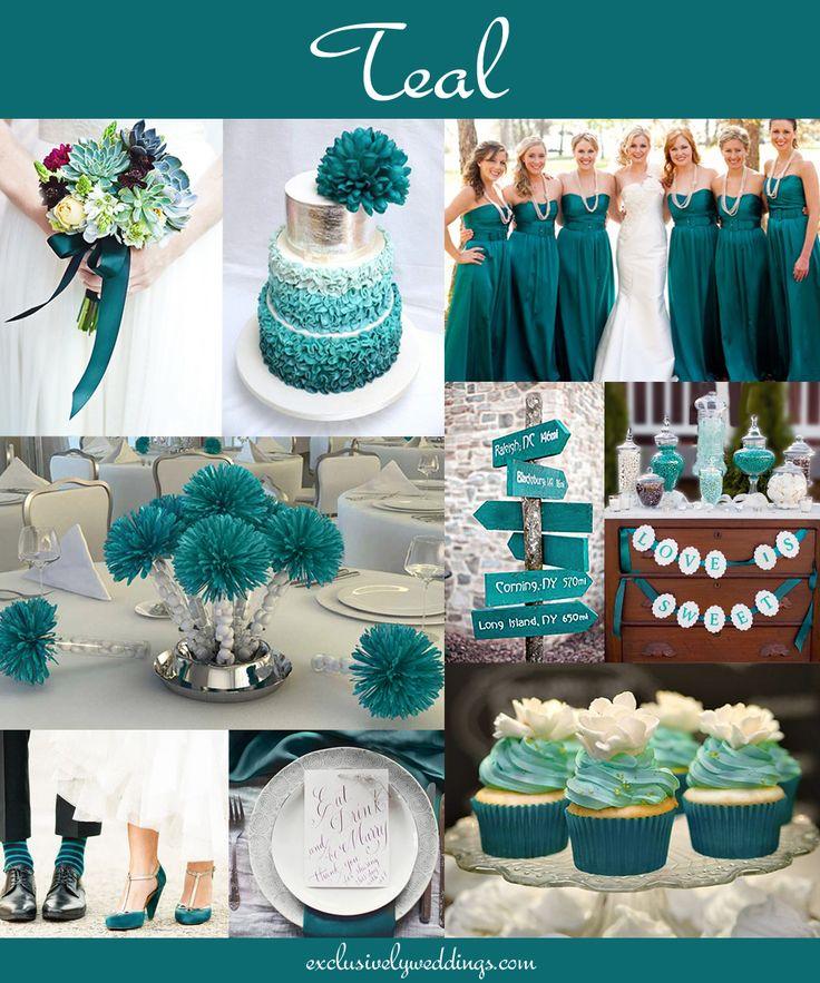 Teal wedding theme best 25 teal wedding decorations ideas on emasscraft org teal teal junglespirit Images