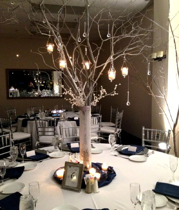 Wedding Twig Centerpieces