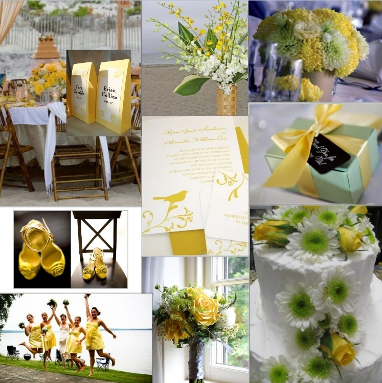 Yellow And Green Wedding Decor Gallery Decoration Ideas