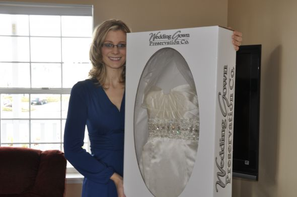 Amazing Bridal Gown Preservation Festooning - Top Wedding Gowns ...