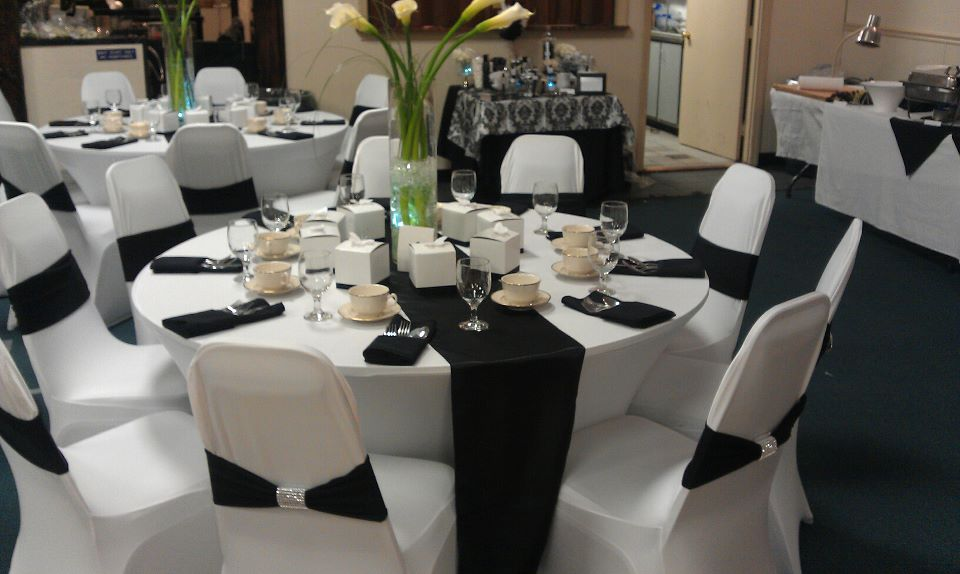 White And Silver Wedding Theme: Black White And Silver Wedding Decor