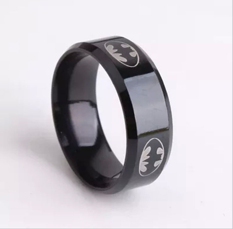 Mens Batman Wedding Rings