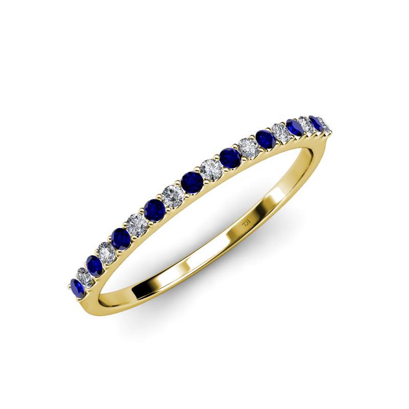 Blue Sapphire And Diamond (si2
