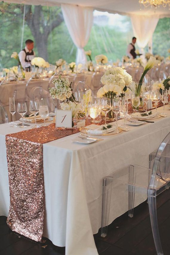 Rose Gold Wedding Theme