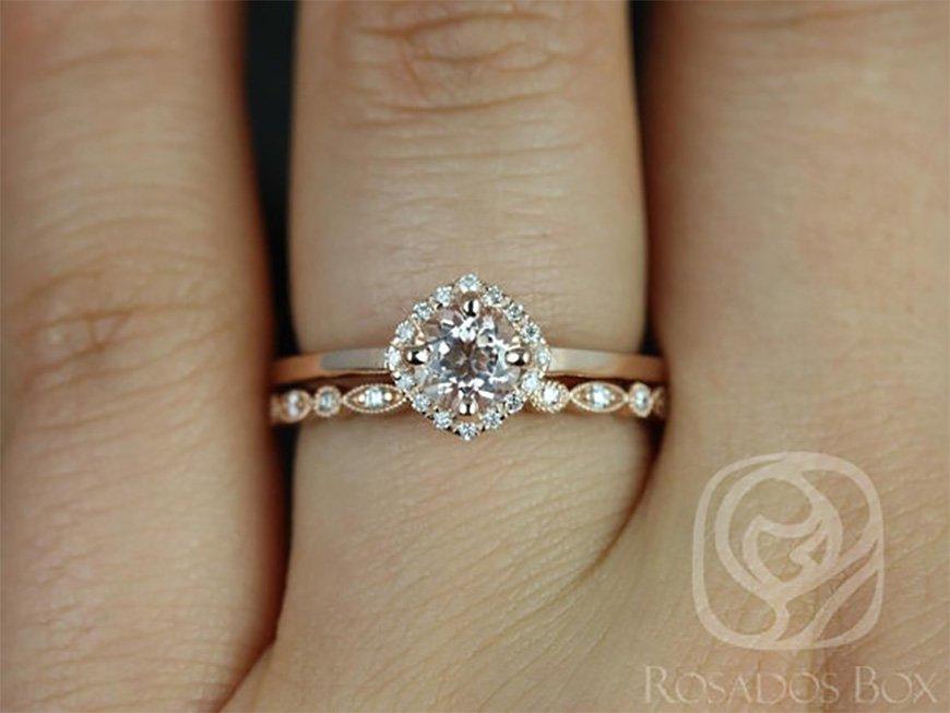 Boho Wedding Ring Ideas